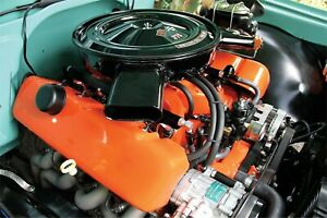 Holley 242 1 Ls Coil Covers Bbc Replica Conversion Cover