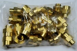 Brass Fittings Brass Reducer Coupling Female Pipe 1 2 To 1 4 Qty 50
