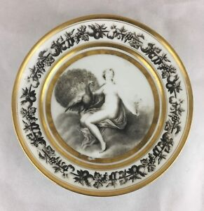 Early 19th Century Antique Stone Coquerel Legros French Porcelain Decorative P