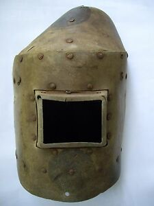 Vintage Welding Mask Shield Helmet A Great Unique Decoration