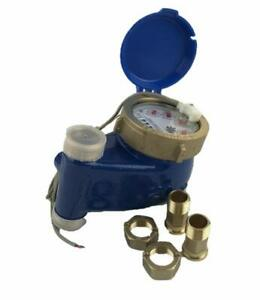 Dae V 75p Vertical Water Meter Pulse Output 3 4 Npt Couplings Gallons