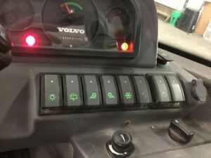 Volvo L20b Wheel Loader 8 switch Panel Ships Free