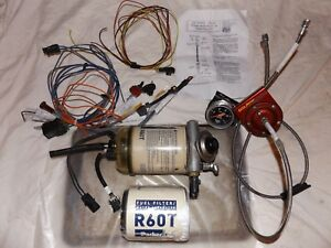 Racor Fuel Filter Water Sep Autometer Fuel Gauge Isolator Switch Relay Wiring