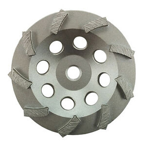 5 Turbo Concrete Grinding Cup Wheel 9 Segs 5 8 11 Thread buy 5 Get 1 Free