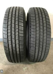 2x Take Off Lt245 70r17 Michelin Defender Ltx Ms 12 13 32 Used Tires