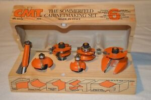 Cmt The Sommerfeld Cabinet Making Set Of Router Bits 800 515 11 1 2 Shank