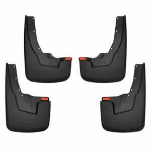 Husky Liner 58136 Front Rear Mud Guards Flaps Set For 2019 Dodge Ram 1500