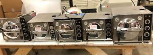 Lot Of 6 only 5 Pictured Pelton And Crane Autoclaves technician Special