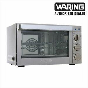 Waring Commercial Co1600wr Commercial Oven 1 5 Cubic Foot Convection Oven