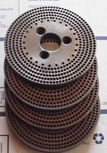 Ellis Dividing Head Plates 4 5 6 7 Can Be Also Used On A Precision Head