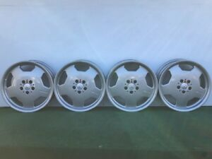 Rare Mercedes Benz Amg Monoblock 18 Genuine Factory Oem Silver Wheels Rims Set