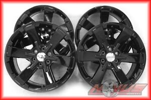 Oem New 22 Gmc Denali Chevy Silverado Tahoe Yukon Black Wheels 20 Ck162