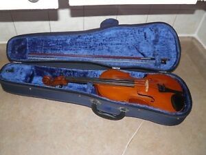 Antique 1925 Francois Barzoni 4 4 Violin Bow With Hard Case