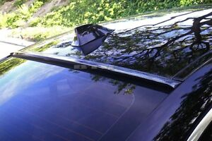 For 2010 2012 Ford Fusion Carbon Look Rear Window Roof Spoiler