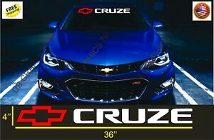 Chevrolet Cruze Decals Windshield Banners Car Stickers Graphics