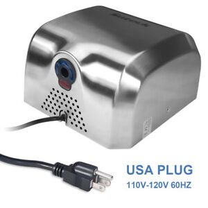High Speed Commercial Heavy Duty Stainless Steel Automatic Hand Dryer