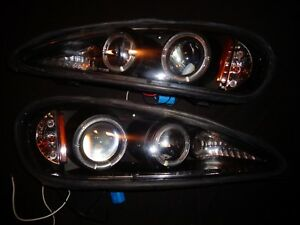 1999 2000 2001 2002 2003 2004 2005 Pontiac Grand Am Gt Halogen Led Headlights