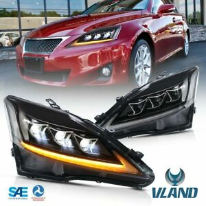 Full Led Headlight For Lexus Is250 Is350 Isf 2006 2012 Front Lamps Assembly