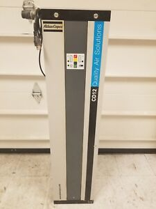 Atlas Copco Heatless Desiccant Dryer Cd12 With Accessories