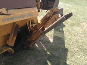 Case 580b Backhoe Right Backhoe Outrigger Stabilizer With Pad No Cylinder