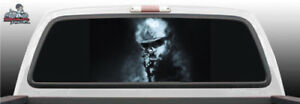 Soldier Sniper Army Military Perforated Rear Window Graphic Decal Suv Truck Car