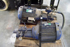Hydraulic Pump And Motor Assy Lincoln Parker Three Phase