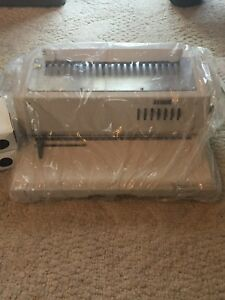 New Tamerica 210epb Electric Plastic Comb Binding Machine