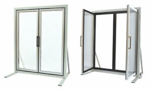 Glass Display Doors For Walk in Cooler Made In Usa