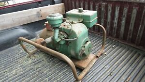 Vintage 115 Volts 60 Cycle Engine Dayton Generator Plant