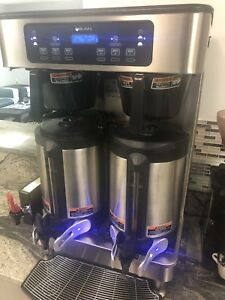 Bunn 51200 0103 Icb Infusion Twin Automatic Coffee Brewer W Wireless 120 240v