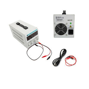 30v 10a Stabilizer Dc Power Supply Variable Adjustable Switching Lab Grade Clip