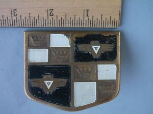 Original 1950 Studebaker Hood Trim Emblem Medallion Badge