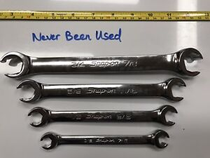 Snap On Flare Nut Line Wrench 4pc