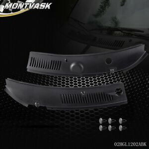 New Windshield Wiper Cowl Vent Grille Panel Hood For 99 04 Ford Mustang