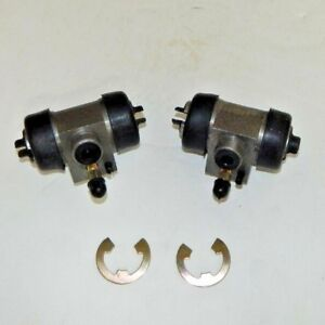 Pair Of New Rear Brake Wheel Cylinders For Mg Mgb Gt 1967 1980