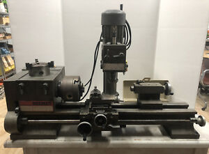 Emco Austrian Maximat 7 Lathe mill Combo Extra Chuck And Attachments