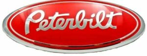 Peterbilt Red 2005 2014 Ford F150 Front Grille Tailgate 9 Inch Oval Emblem New
