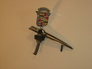 Vintage 1980 S Cadillac Hood Ornament Part 1623997