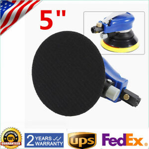 New 5 Air Palm Orbital Sander Random Hand Sanding Pneumatic Round 9000rpm 90psi