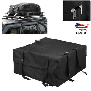 Car Vehicle Roof Top Bag Cargo Pack Storage Box Luggage Rack Holdall Waterproof