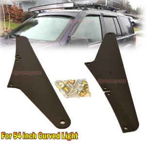 05 10 Jeep Grand Cherokee Wk Upper Roof Bracket For 54 Curved Led Light Bar
