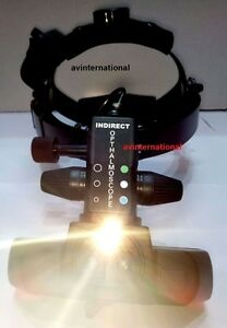 Wireless Indirect Ophthalmoscope With 20 D Lens