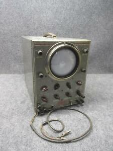 Vintage Jackson Cro 1 Wide Band High Sensitivity Cathode Ray Oscilloscope Tested