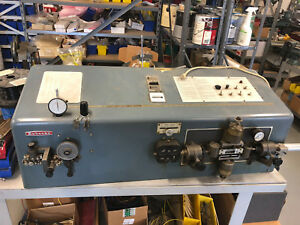 Eubanks Wire Cutter Stripping Model 810a Pneumatic