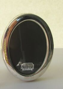 Concorde British Airways Sterling Silver Oval Photo Frame W Logo