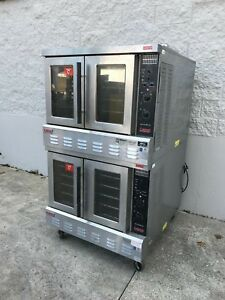 Lang Double Full Size Gas Convection Oven Restaurant Equipment