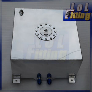 Non Sensor Aluminum 40 Litre 10 Gallon Fuel Cell Tank Us Ship