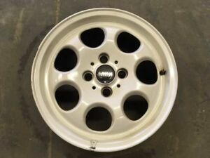 Wheel 15x5 1 2 Alloy 7 Hole Convertible White Fits 02 09 Mini Cooper 1072831