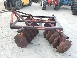 Nice 20 Disc 3 Point Hitch Adjustable Disc Harrow