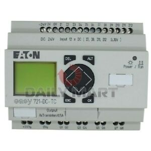 Used Tested Work Eaton Easy721 dc tc Programmable Relays